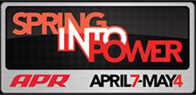 APR Spring Sale