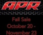APR Fall Sale