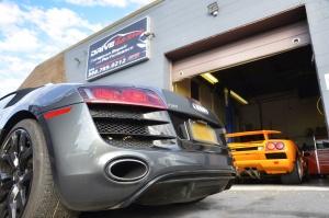 Audi R8 and Lambo Diablo