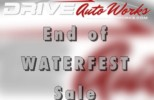 Post Waterfest Sale