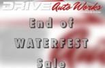 Post Waterfest Sale