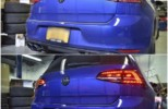 VW Golf R Euro Taillight