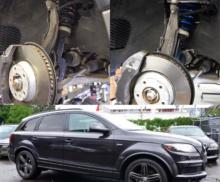 Audi Q7 H&R lowering springs install