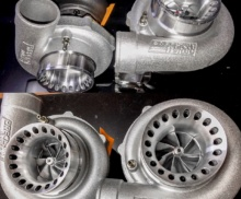 New turbos for R8