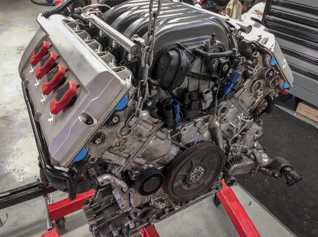 A6 4 2 Engine swap