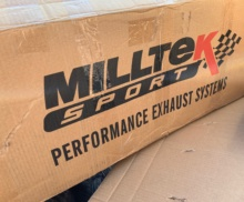 Milltek exhaust install on this RS7